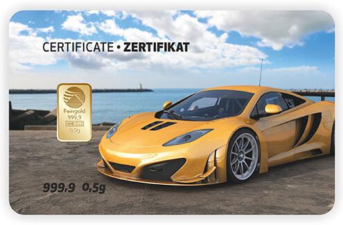Goldkarte