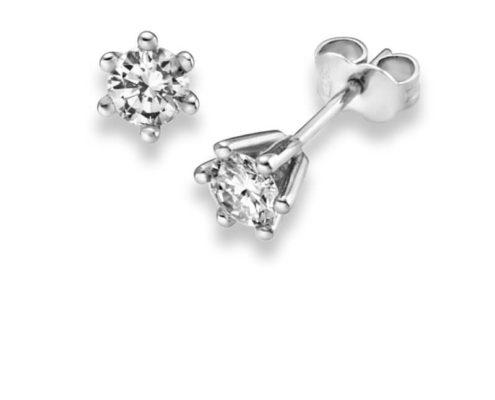 Ohrstecker mit Diamant