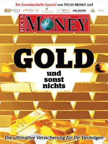 Focus-Money - Artikel über Gold