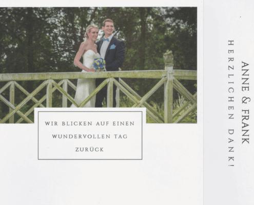Anne & Frank Danksagung 2016