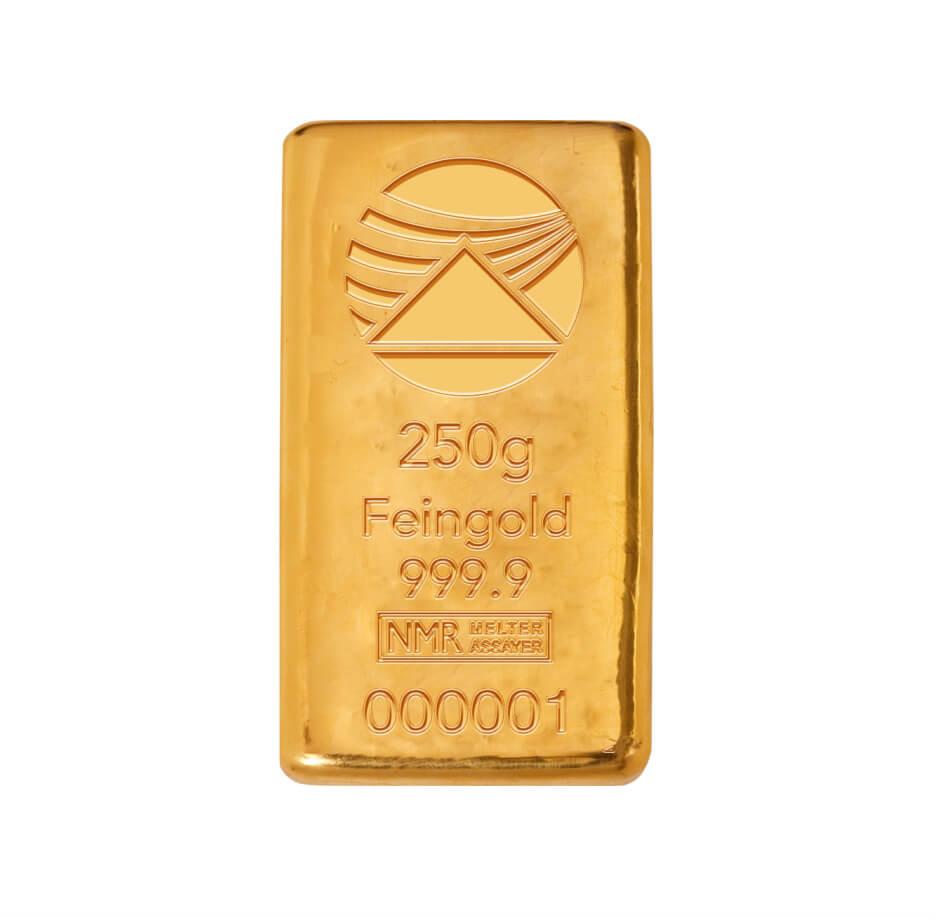 Goldbarren 250g
