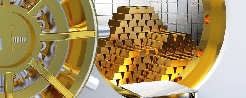 Gold richtig einlagern
